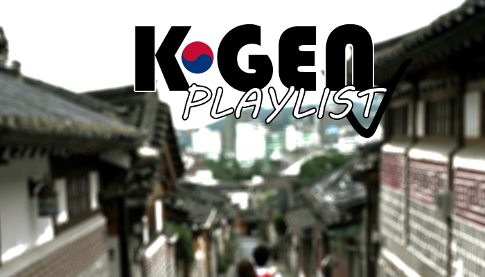 k-gen playlist