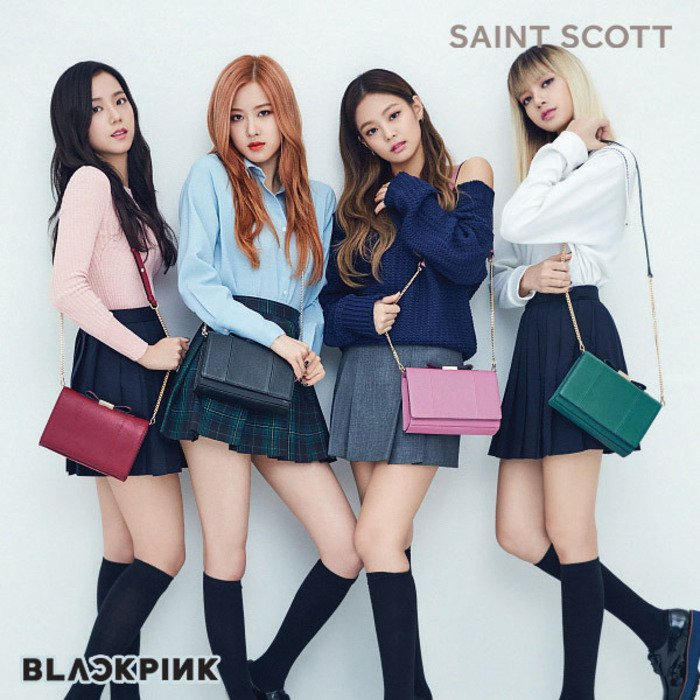 blackpink - saint scott