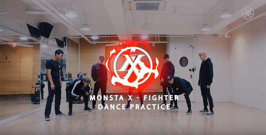 monsta-x-video-entrainement-fighter