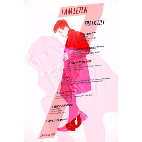 se7en-tracklist